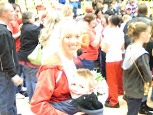 Brianne and 'lil man
