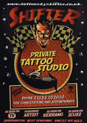 We have now opened a PRIVATE TATTOO STUDIO.
