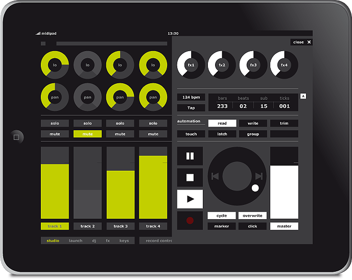 Image Result For Midi Controller Ipad Ableton