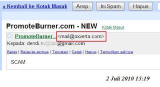 PromoteBurner is SCAM