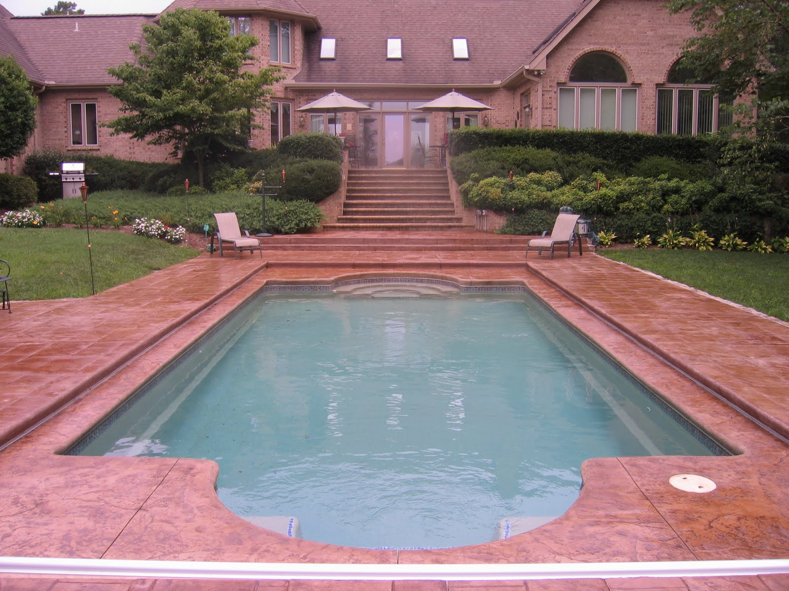a splash of paradise pool designs