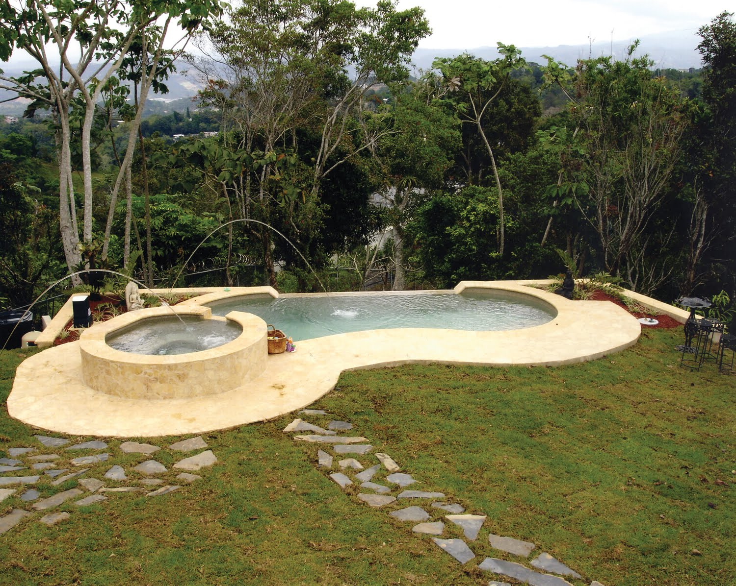 Greenbrier Model Composite Pool