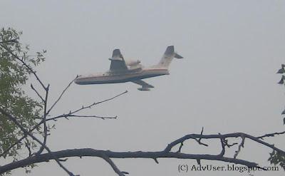 Самолет МЧС. Пожар в Тольятти