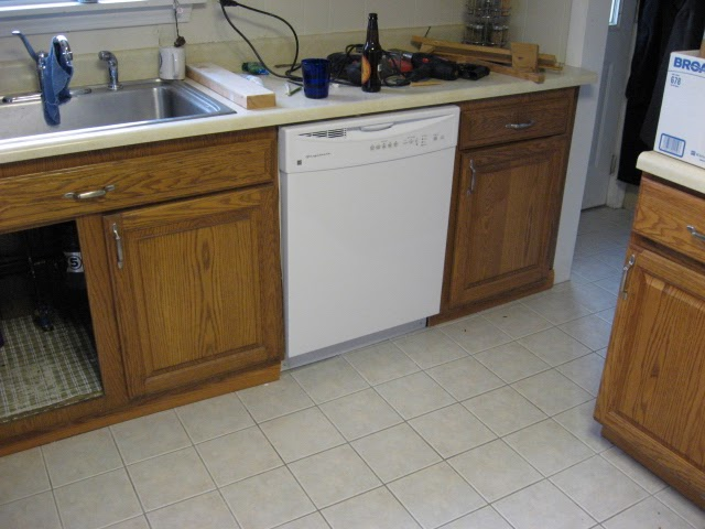 diy disaster avoidance how to install a dishwasher the easy part. Black Bedroom Furniture Sets. Home Design Ideas