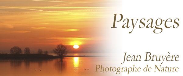 Jean Bruyère - Paysages