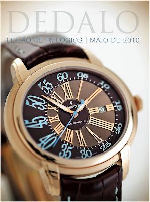 cf4a7d6bae2 Dedalo - leilão de relógios   maio 2010