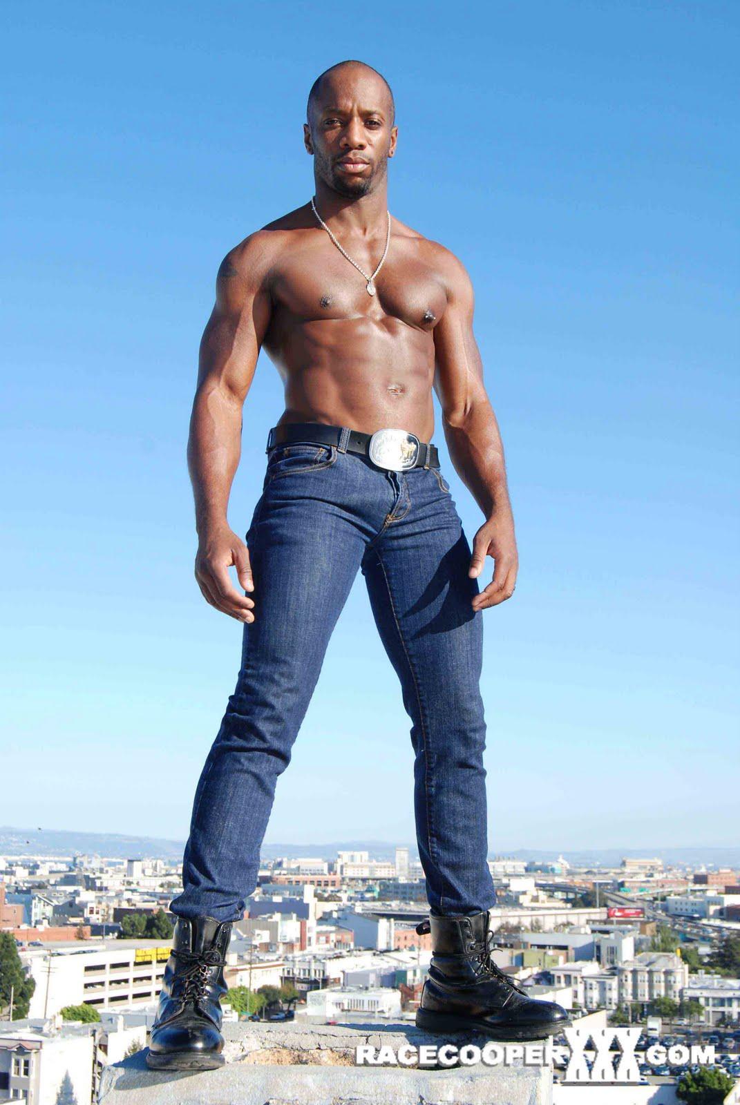 Gay black muscle nude