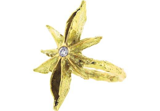 gold star. as quot;golden garden jewelryquot;