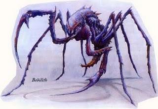 novas criaturas Bebilith
