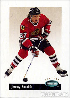 Career in Cards: Jeremy Roenick