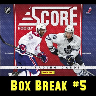 2010-11 Score Hockey box break #5