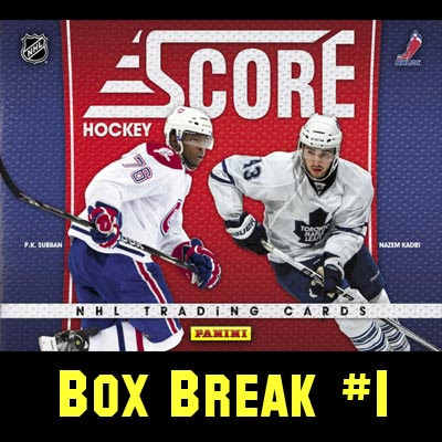 2010-11 Score Hockey box break #1