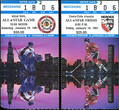 1991 All-Star Game & Heroes of Hockey Tickets