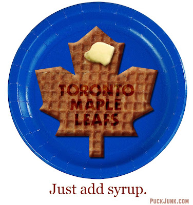 Toronto Waffle Leafs & Contest Update