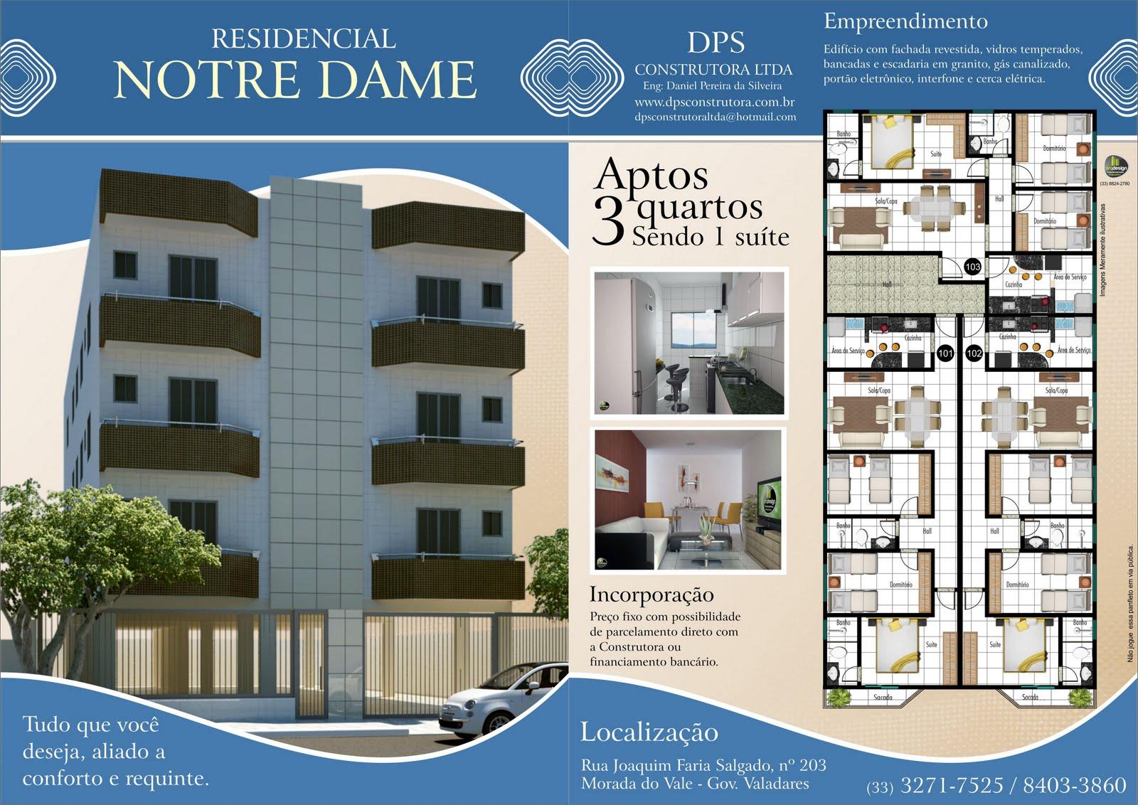 DPS Construtora   Residencial Notredame