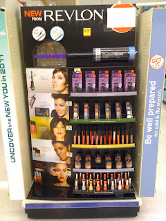 Revlon Top Speed display