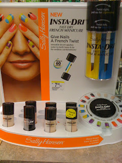 Sally Hansen Insta-Dri French Manicure display