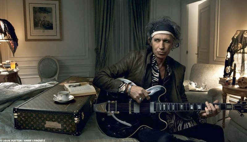Keith Richards is the new face of Louis Vuitton