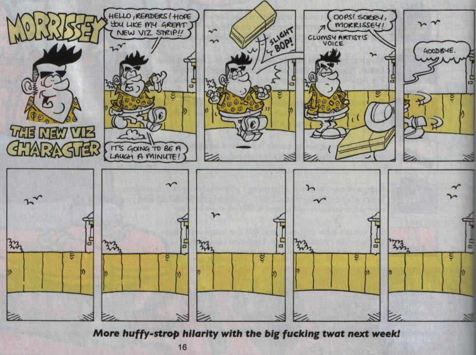 Morrissey in Viz
