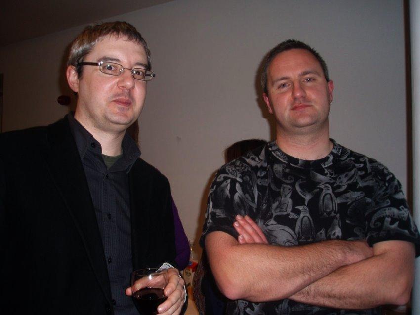 Conor Kostick and Oisín McGann