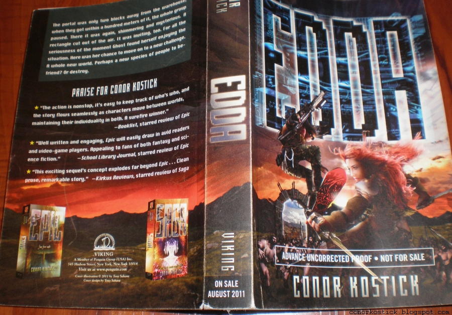 Edda by Conor Kostick