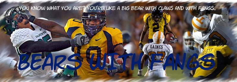California Golden Bears Football Blog - Bears with Fangs