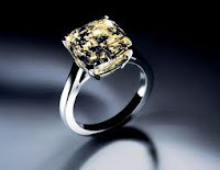Most Expensive Engagement Ring - Ring with Yellow diamond