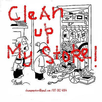 CLEAN UP MY STORE