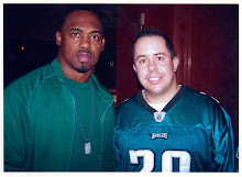 "Phillygrapher and ""Dawk"" Brian Dawkins!"