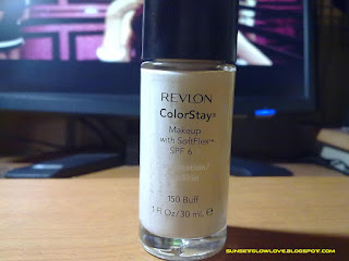 Revlon Colorstay Foundation Makeup with Softflex SPF 6 Combination/Oily Skin in 150 Buff bottle