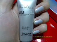 Dr. Jart Rejuvenating Blemish Base Silver Label tube