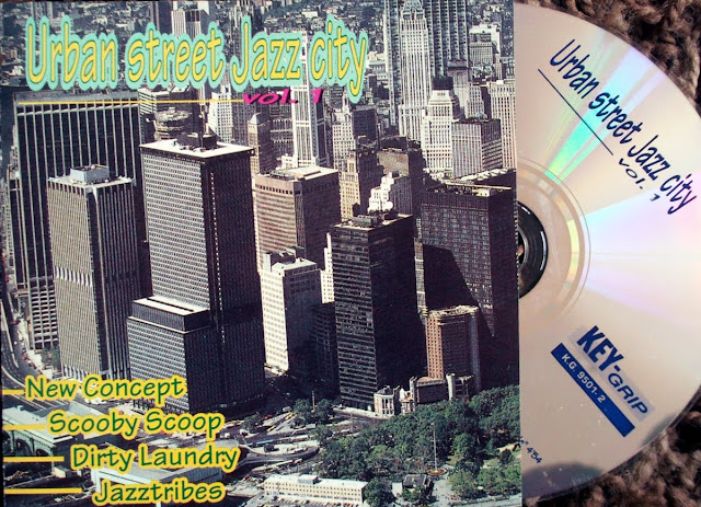 Urban Street Jazz City Vol.1 - Various on Key Grip 1995
