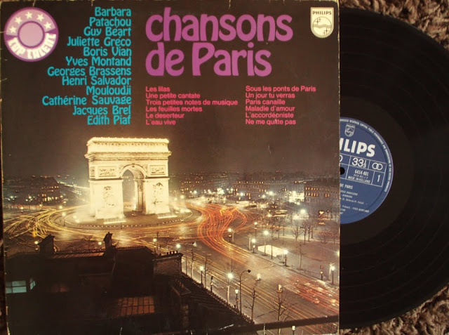 Chansons De Paris - Various on Philips 197?