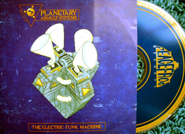 Planetary Assault Systems - The Electric Funk Machine on Peacefrog Records 1997