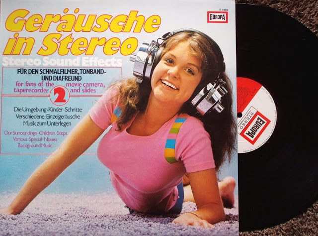 Geräusche in Stereo 2 ~  Stereo Sound Effects on Europa / Miller International Schallplatten 1974