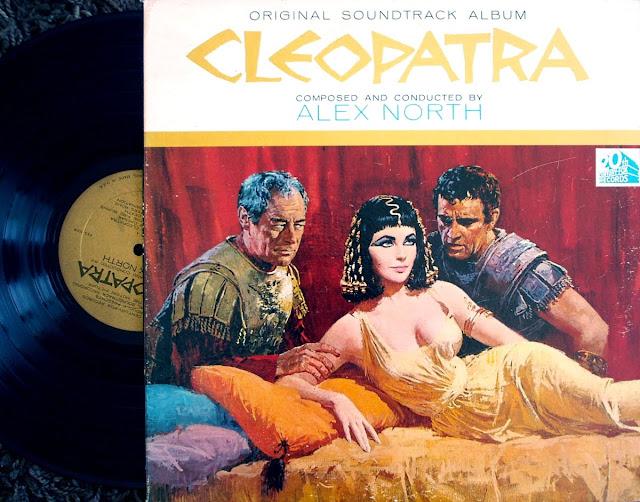 Alex North - Cleopatra on 20th Century Fox 1963