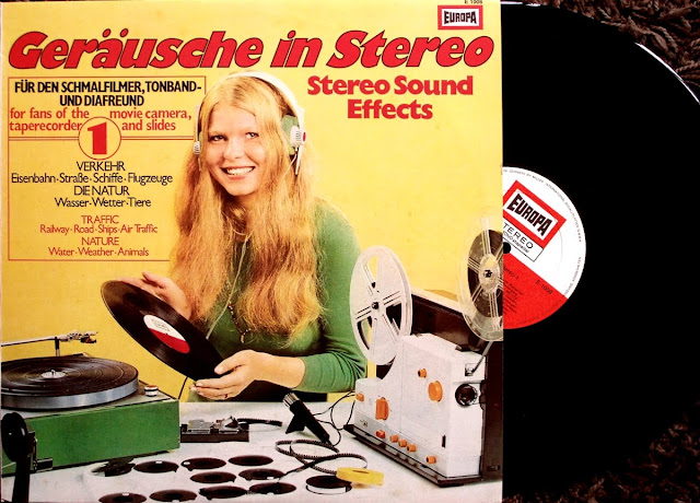 Geräusche in Stereo 1 ~  Stereo Sound Effects on Europa / Miller International Schallplatten 1973