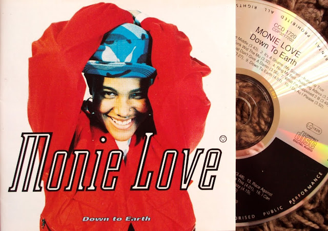 Monie Love - Down To Earth on Cooltempo 1990