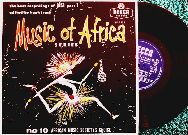 Music Of Africa Series No.10 ~ The Best Recordings Of 1953 Part 1 - African Music Society's Choice.../ Various on Decca 1954