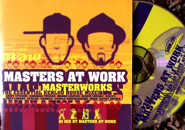 Masters At Work - Masterworks ~ The Essential Kenlou House Mixes on Harmless 1995