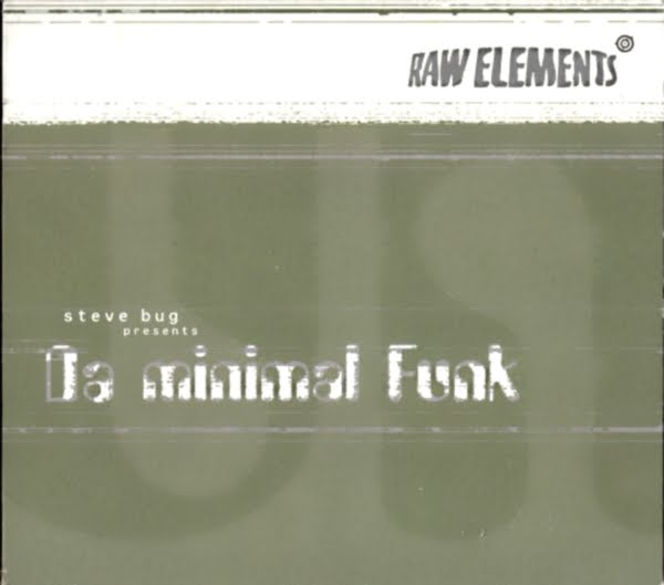 Cover Album of Steve Bug Presents ~ Da Minimal Funk - Various on Raw Elements 1997