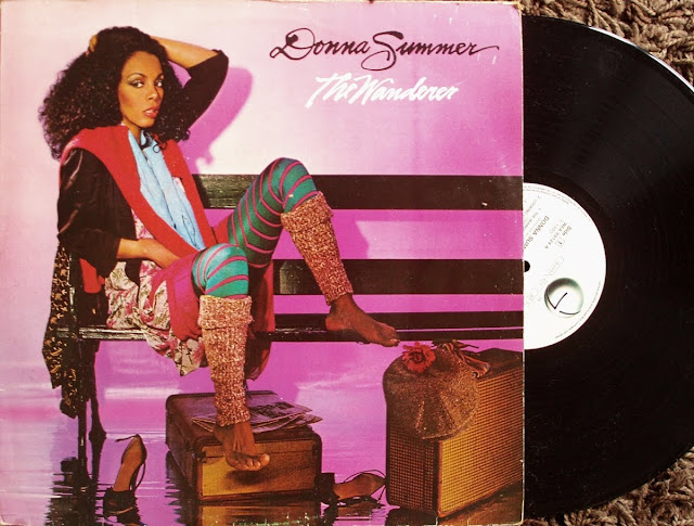 Donna Summer - The Wanderer on Geffen Records 1980