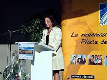 Mme CAFFIER présidente de l'APEL