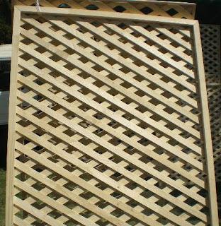 Treillage rejas de madera for Rejas de madera