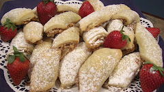 Czech Walnut Pastries
