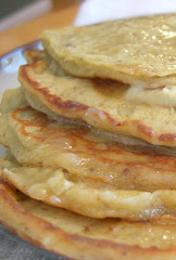 Banana Pecan Pancakes