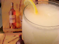 Icy Lemon Ginger Vodka Cocktails