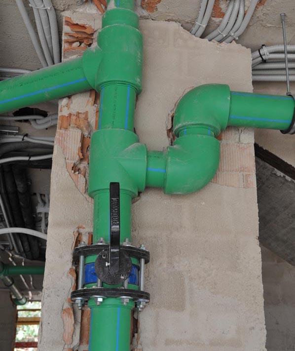 La casa ecol gica y bioclim tica sistema de fontaner a for Tubos de fontaneria