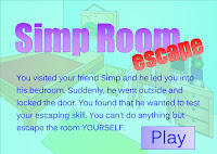 Simp Room Escape Walkthrough