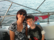 My 9 year old son Kilian and I in Florida